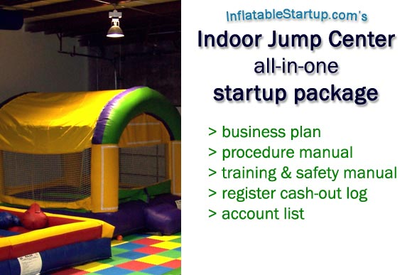 indoor jump center startup package