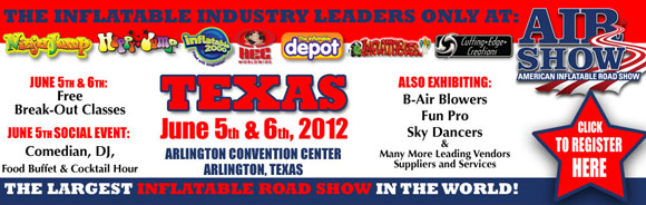 Inflatable Road Show Texas Flyer