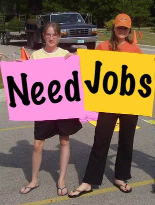 Local teen job openings
